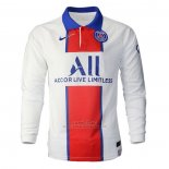 Camiseta Paris Saint-Germain Segunda Manga Larga 2020-2021